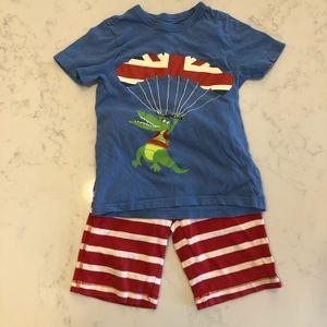 Mini Biden shorts set